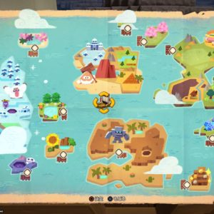 DQB2全体地図