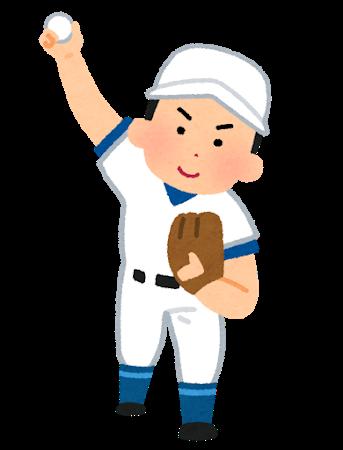 野球ピッチャー