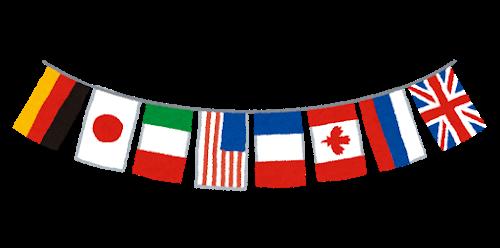 いろんな国の国旗