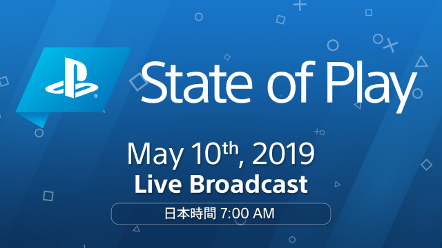 「State of Play」の第2回放送日が決定。今回はPS4向け大作タイトルの新情報があるらし