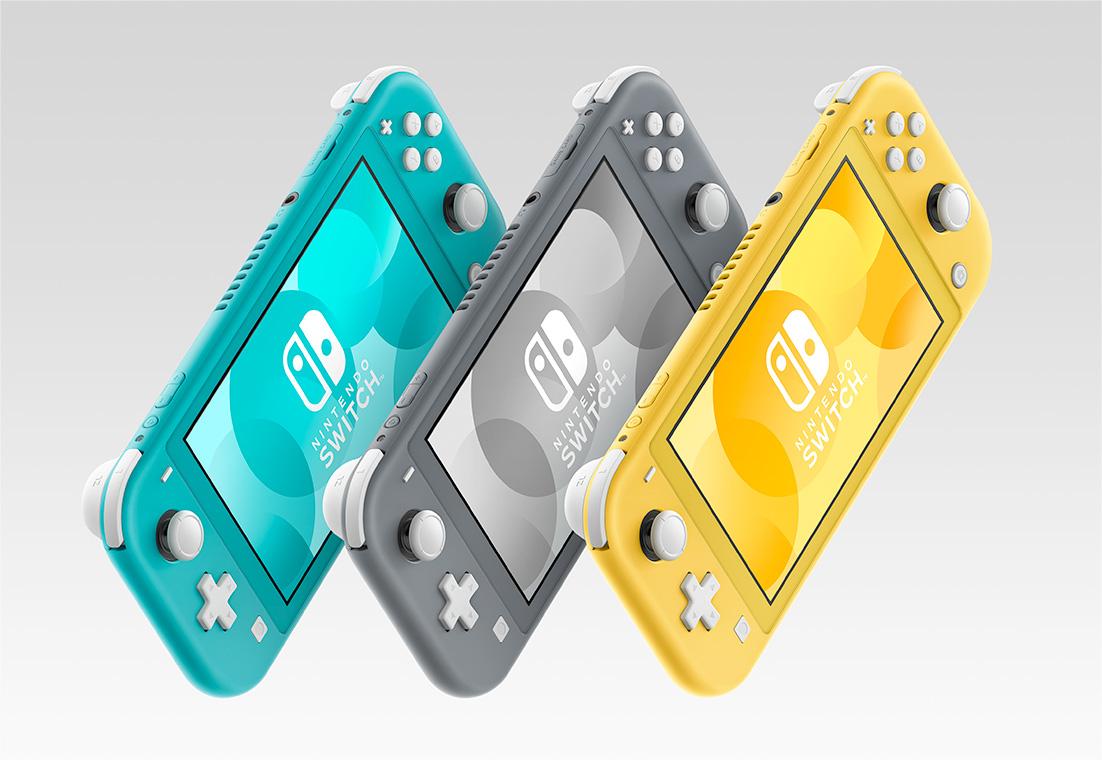 携帯モード特化の「Nintendo Switch Lite」発売が発表に。一回り小さく、一回りお安く